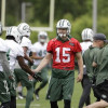 What does Jets' depth chart look like after 4 OTAs?