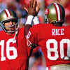 Joe Montana and Jerry Rice named best QB-WR duo in NFL history