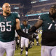 Lane Johnson says Eagles might have the best offensive line in the NFL