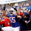 Bills DC Leslie Frazier 'excited' about Jerry Hughes, expects 'stout' defensive line