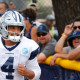 Three Cowboys briefly removed from practice after tempers flare; Dak compares his dogs to 'Rob & Big'