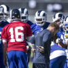 Aaron Donald doesn't show up, and remains the topic of conversation at Rams camp