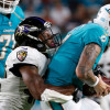 Getting sack in Thursday's win vs. Miami was 'very thrilling' for Ravens' Otha Foster
