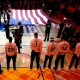 NBA says players must stand for national anthem: report