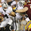 Derek Carr wants all the blame for loss to Washington