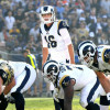 Rams quarterback Jared Goff has gotten the message on how to attack defenses