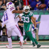 Tyrod Taylor calls Zay Jones a 'warrior' for returning after knee injury vs. Jets