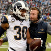 Todd Gurley doesn't mind taking this one off, even if it costs him rushing title