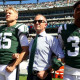 Jets' camera-shy owner stands with his players … on and off the field