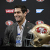 Garoppolo, 49ers connect, completing long-term record deal