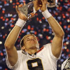 Drew Brees once attended a Super Bowl to scout Seahawks