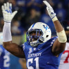 Former Kentucky linebacker Courtney Love headed to Cleveland Browns's mini camp