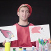 Josh Rosen paints with the rest of the 2018 NFL Rookie Class