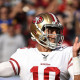 The pressure is on Jimmy Garoppolo, could he regress?