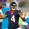Texans QB Deshaun Watson had the most passes under pressure in 2017