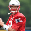 Tom Brady, moving to Jay-Z, young as ever in his 19th New England Patriots training camp