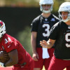 The Cardinals have a good old-fashioned QB battle on their hands