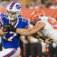 NFL roundup: Allen outduels Mayfield, stakes claim to Bills quarterback job