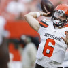 Baker Mayfield finishes strong vs. Bills