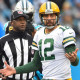 Aaron Rodgers is worried about the NFL's new helmet rule