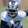 Rams S John Johnson shares thoughts on NFL's controversial helmet rule