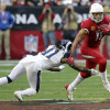 Cardinals receiver Larry Fitzgerald not revealing whether this is his NFL finale