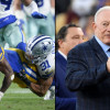 Jerry Jones thinks the Rams' slippery field hurt the Cowboys in playoff loss
