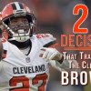 Spinning DeShone Kizer into Damarious Randall: Transforming the Cleveland Browns, Decision No. 6